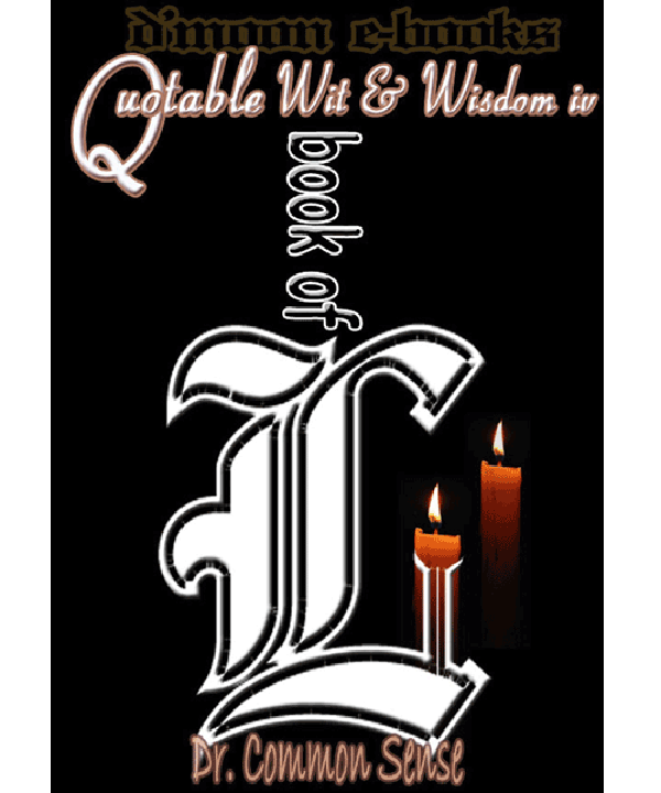 Book of L ii - Quotable Wit and Wisdom Collection 4