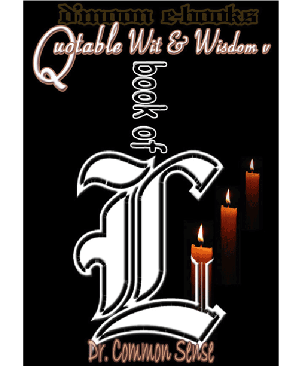 Book of L iii - Quotable Wit and Wisdom Collection 5